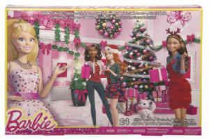 Giv barbie modeudstyr julekalender til pigerne