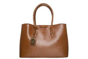 Køb en lækker Ralph Lauren lædertaske til hende