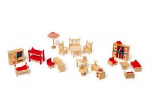 køb dukkehus møbler i gave til piger