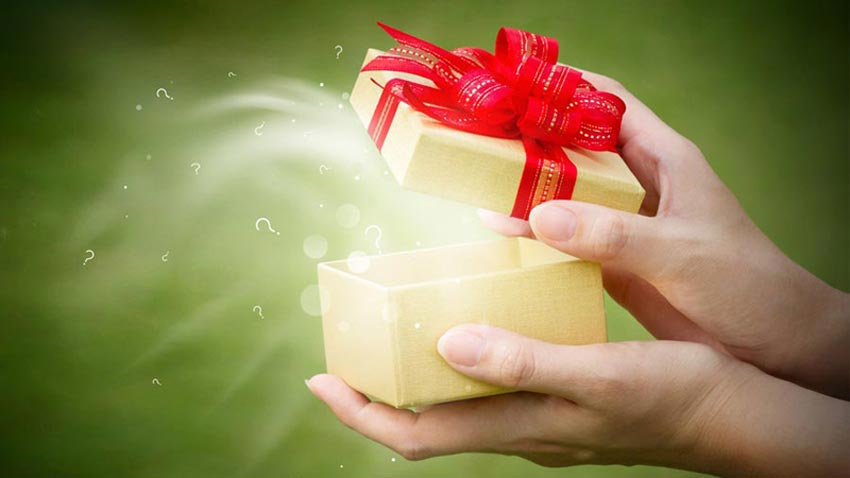 små søde gaver til ham