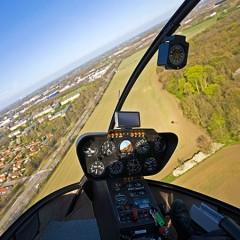 Helikopter rundflyvning er en spændende oplevelsesgave