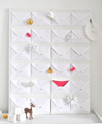 hvid julegavekalender