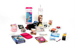 giv teenagepiger en sjov julekalender med 24 pakker