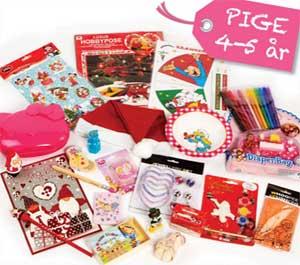 Køb den færdige pakkekalender til 4-5 årige piger