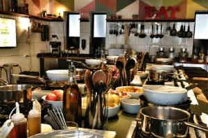 giv den lækre gourmet oplevelse