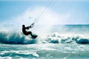 køb ham den fede kitesurfing introduktions oplevelse