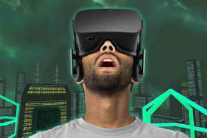 giv den sjove virtuel reality oplevelse til ham