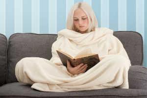 giv et lækkert og sjovt snug rug tæppe til hende