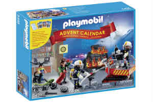 playmobil fire rescue julekalender