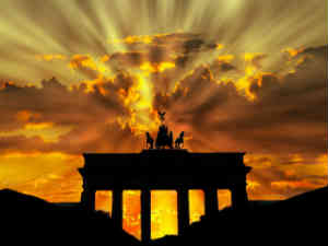 giv en tur til Berlin som den romantiske ide til ham