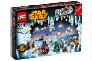 køb en star wars julekalender med 24 låger