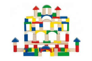 buy the fun building blocks for the little ones in gift