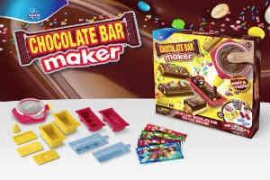 giv børnene på 9 år den sjove chokolate bar maker i julegave