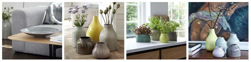 Kähler botanic serien byder på alverdens lækre krykker og vaser til dekoration