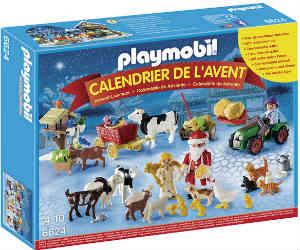 jul på gården er den søde playmobil kalender
