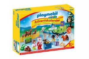 giv de mindste børn den søde playmobil jul i skoven