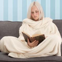 Snug Rug tæppe – Hold varmen, læs bog og drik te på samme tid, Sådan!