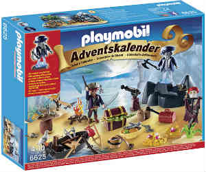 køb playmobil skatteø julekalenderen til drenge på 4 til 10 år