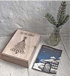 holder til julens sanghæfter