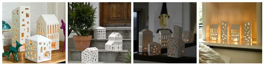urbania lyshus fra Kähler giver det hyggelige levende lys
