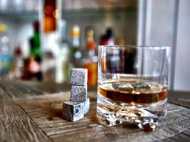 fedsten terninger er perfekt til whisky nyderen