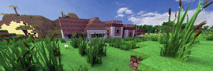 du kan finde den grønne landsby som lego også