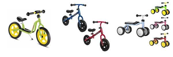 børn elsker en løbecykel