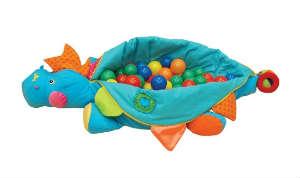 giv den sjove drage med bolde som det sjove legetøj til små børn