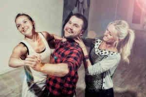 giv danseundervisning i bryllupsgave