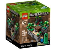 lego skov i minecraft form er det sjove legetøj