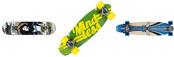 skateboards er det gode legetøj for drenge