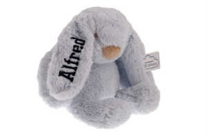 køb nen personlig kanin med navn på i barselsgave