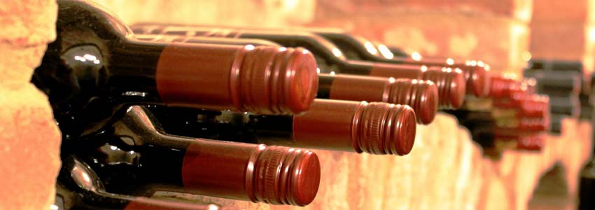 brug vinreoler til at lagre vin på