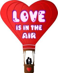 sørg for at kærligheden flyver højt
