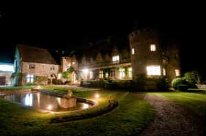 k'øb et romantisk ophold på slot i Frankrig