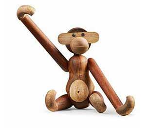 den lille abe fra Kay Bojesen