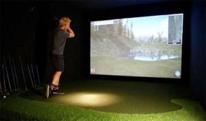 golf simulator kan være den sjove gaveide