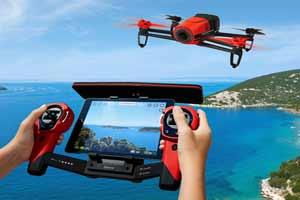 giv en super sjov parrot bebob drone