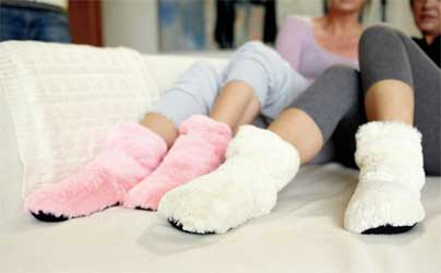 hold fødderne varme med disse slippies boots - perfekt ide til en pigegave