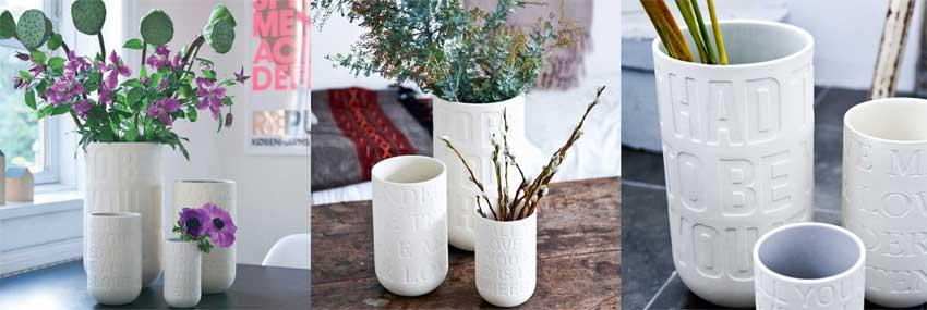 Kähler Love Song vaser som den kærlige bryllupsgave