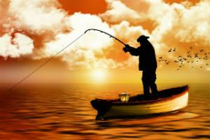 Køb noget fiskeline som den billige gave til fiskeren