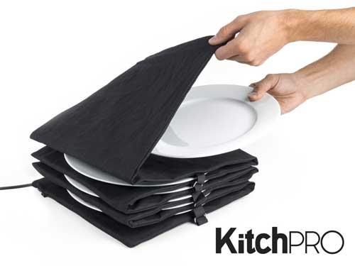 en moderne gave kunne være disse Kitchpro tallerkenvarmere