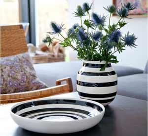 Omaggio vasen fra Kähler er perfekt som keramik gave til mor