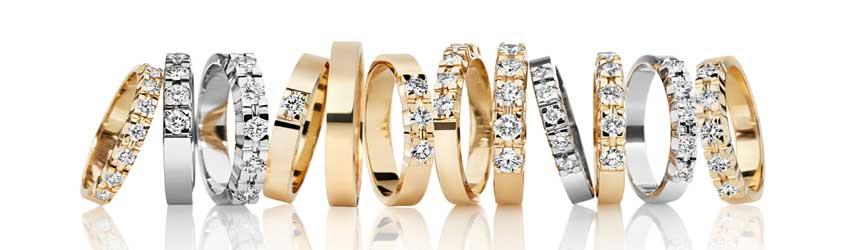 Alliance ringe er en populær ring blandt kvinder