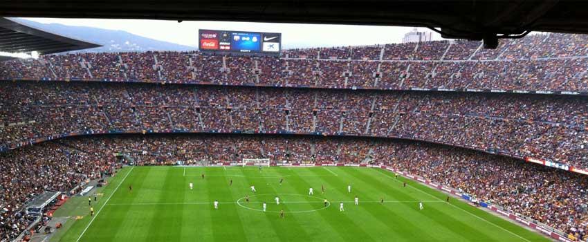 At besøge Camp Nou er den fede oplevelsesgave