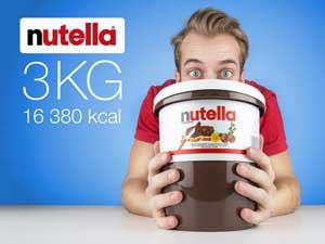3 kg nutella er da en sjov gaveide til studenten