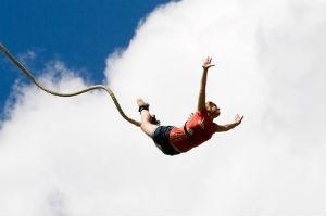 Bungyjump er den grænseoverskridende gave