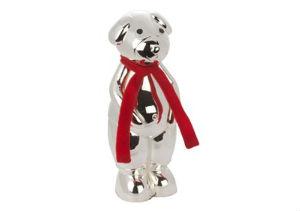 giv den søde sølv bamse i barnedåbsgave