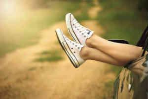 Alle teenagepiger elsker sko så brug det som den gode gaveide