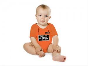 giv den fede fangedragt babybody i gave